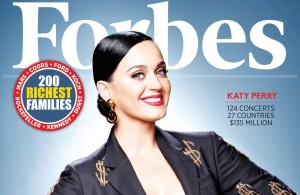 Кэти Перри попала в список Forbes