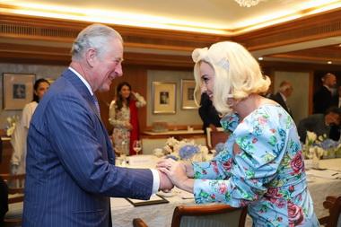 Кэти Перри и принц Чарльз.